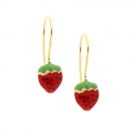Κίτρινος Χρυσός 9Κ - Φράουλες